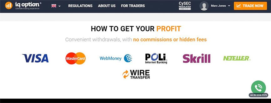 Join IQ Option Stock Trading Platform Regulated Profit Report - UK